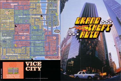 Mapa GTA - Parte Trasera