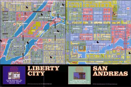 Mapa GTA - Parte Frontal