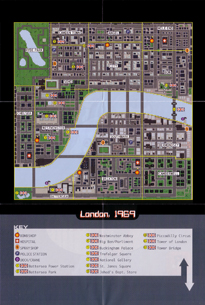 Mapa GTA 1 Mission Pack London 1969 Front